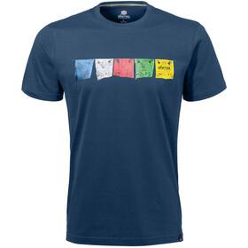 Sherpa Tarcho t-shirt Heren blauw